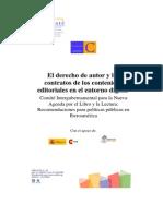 CERLALC El Derecho de Autor y Los Contratos de Los Contenidos Editoriales en El Entorno Digital