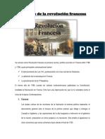 Orígenes de La Revolución Francesa