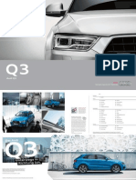 Audi Q3 Product Catalogue (DE, 2015)