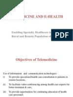 Pawan..Telemedicine and E-health