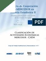Clasificacion de Actividades Economicas Mercosur - Caem