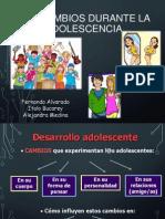 Adolescencia y sus cambios