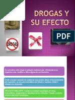 Drogas y Su Efecto