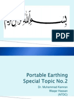 Lecture 3 Pp (Portable Earthing)