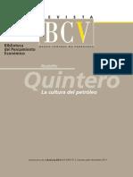La Cultura Del Petroleo BCV