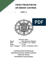 Cover Praktikum (Mesin-mesin Listrik)