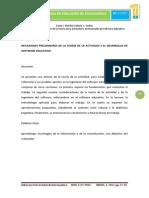 Dialnet-Reflexiones Preliminares De La Teoria De La Actividad