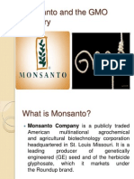 Monsanto and the GMO Industry