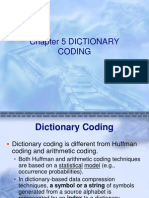 Ch5 Dictionary Coding