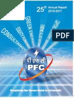 PFC Annual Report 2010-11