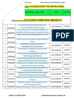 2014-2015 Ieee Dotnet Projects Lists