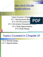 Chapter 27 Diodes and Diode Applications