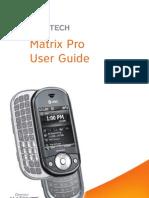 Pantech Matrix Pro for AT&T