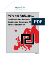 HRF Report We Are Not Nazis But