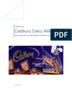 Cadbury Dairy Milk Report