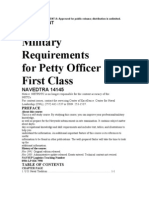 Military Requirements for 1st Class