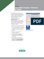 Precision Melt Software Guide