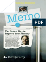 210378122 Memo the Easiest Way to Improve Your Memory