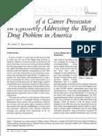 Reflections of a Career Prosecutor James Backstrom