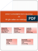 Duct Construction Manual