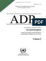 ADR 2013 Volume 1