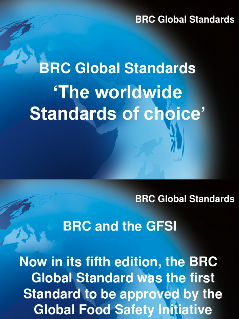 BRC Presentation | Accounting And Audit | Business
