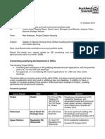 Update on SHA Consenting_masterplanning