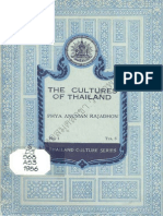 The Cultures of Thiland