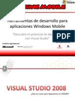 Herramientas de Desarrollo Con Windows Mobile