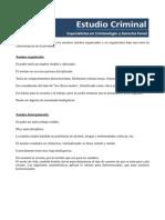 Documento 5 (Caracteristicas Asesino Organizado vs Desorganizado)