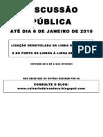 cartaz DISCUSSÃO PÚBLICA