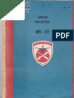MRC-107  RADIO PALLET TM  Veis.s  SV2IPW