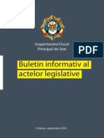 Buletin Informativ Al Actelor Legislative