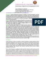 Bedah Digestif - Jurnal Laparotomi