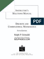 Sol Discrete and Combinatorial Mathematics 5ed R. Grimaldi Part 1.pdf