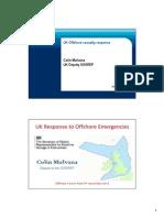 Uk Offshore Casualty Response Colin Mulvana Uk Deputy Sosrep