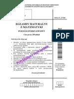 Matura 2008 - matematyka - poziom podstawowy - odpowiedzi do arkusza (www.studiowac.pl)