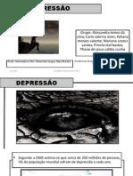 Depressão Alessandra Fama 4o Termo