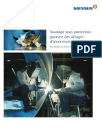 Brochure Soudage Sous Protection Gazeuse Alliages Aluminium