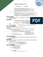 Notes of Discrete Math