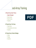 2010 Phased Array Training Part 01 Basic Theory