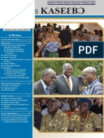 Institute of African Studies newsletter May