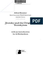Al Richardson, Trotsky and the Origins of Trotskyism (Introduction and Contents)