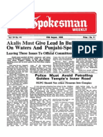 The Spokesman Weekly Vol. 34 No. 46 August 19, 1985