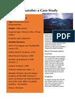 Mount Pinatubo Case Study(*latest eruption)