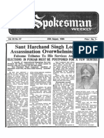 The Spokesman Weekly Vol. 34 No. 47 August 26, 1985