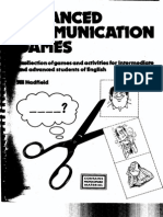 7 Advanced Communication Games