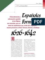 Españoles en Formosa China y Camboya