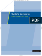 Guide to Bankruptcy