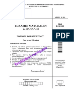 Matura 2008 - biologia - poziom rozszerzony - odpowiedzi do arkusza (www.studiowac.pl)
